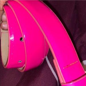 Hot Pink Belt Women's Nine West - OS